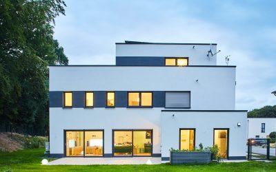 Bauhaus mit Staffelgeschoss