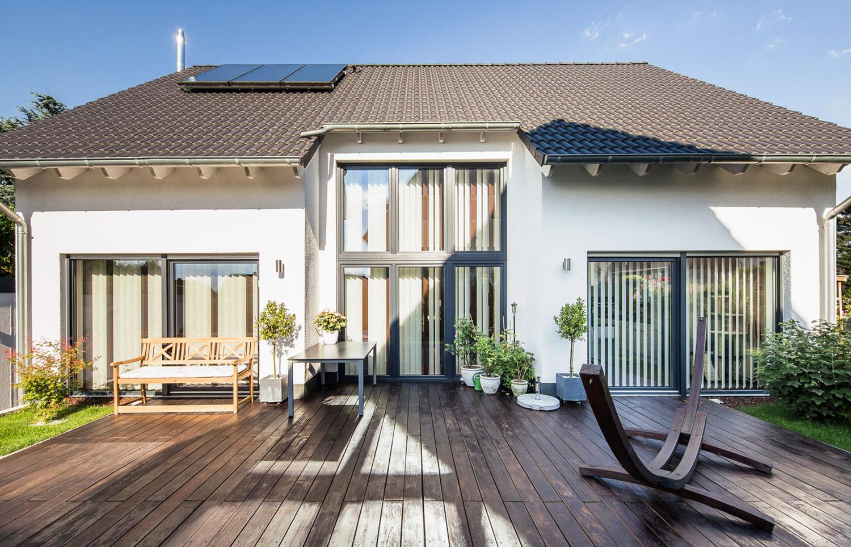Massivhaus Neubau Einfamilienhaus