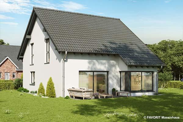 Neubau Einfamilienhaus Massivhausbau