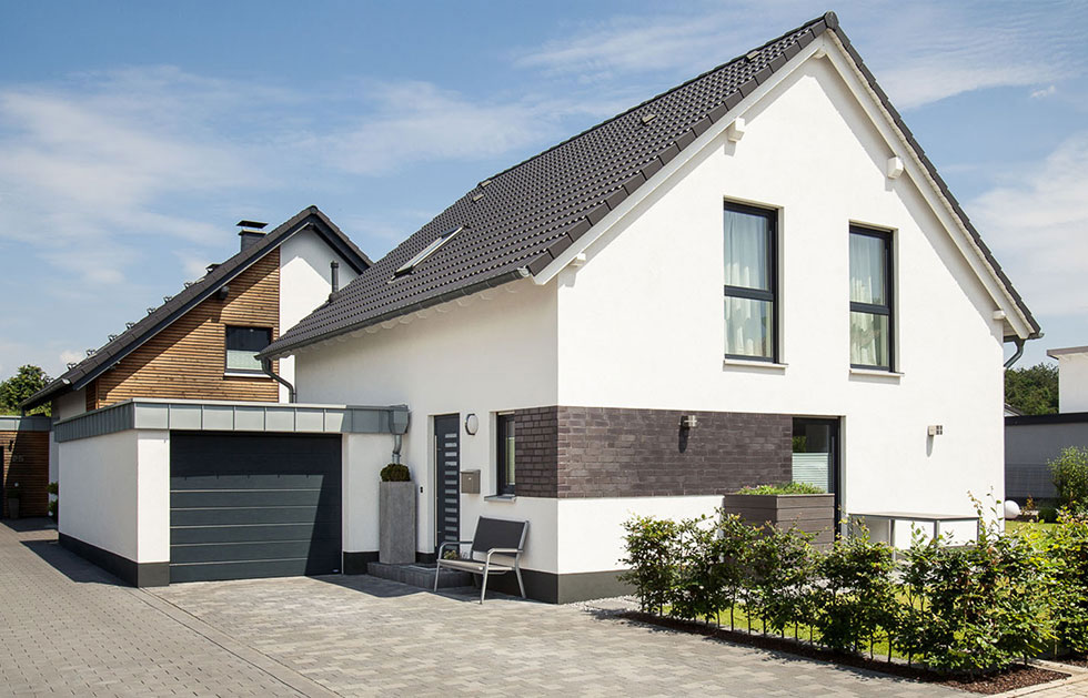 Einfamilinehaus mit Photovoltaikanlage